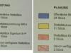 Vergleich der Stellplätze Bestand - Plan