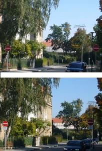 Schillingstraße nun freigegeben für Radfahrer am 11.10.2010