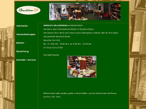 Homepage der Buchhandlung Buchlese 29