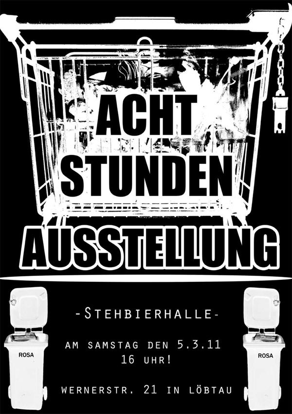 Plakat zur Ausstellung am 05.03.2011