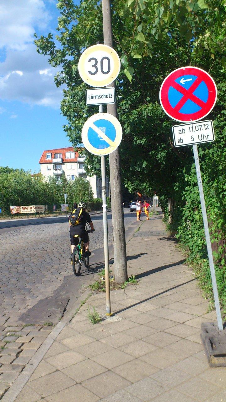 Sanierung der Wernerstraße beginnt – Voraussetzungen für den Boulevard Kesselsdorfer Straße