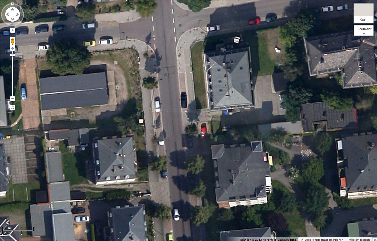 Neue Satellitenbilder von Löbtau in Google Maps! Von 2013 – oder doch von 2012?