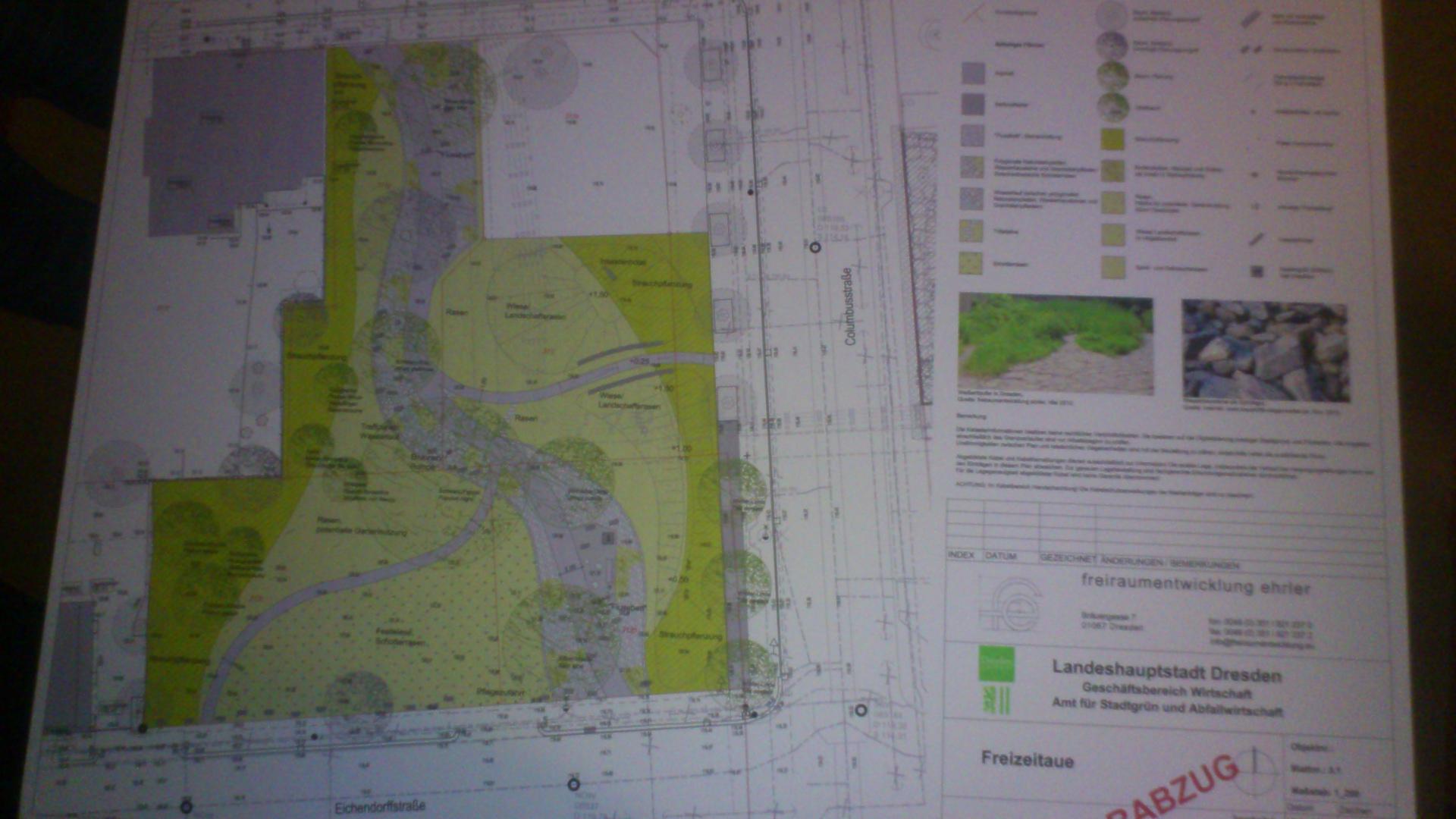 Grabeland für Löbtau – Pläne für den Park an der Columbusstraße vorgestellt