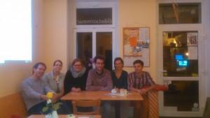 Die sechs Grünen Ortsbeiräte und Stellvertreter für Cotta, Löbtau und Gorbitz