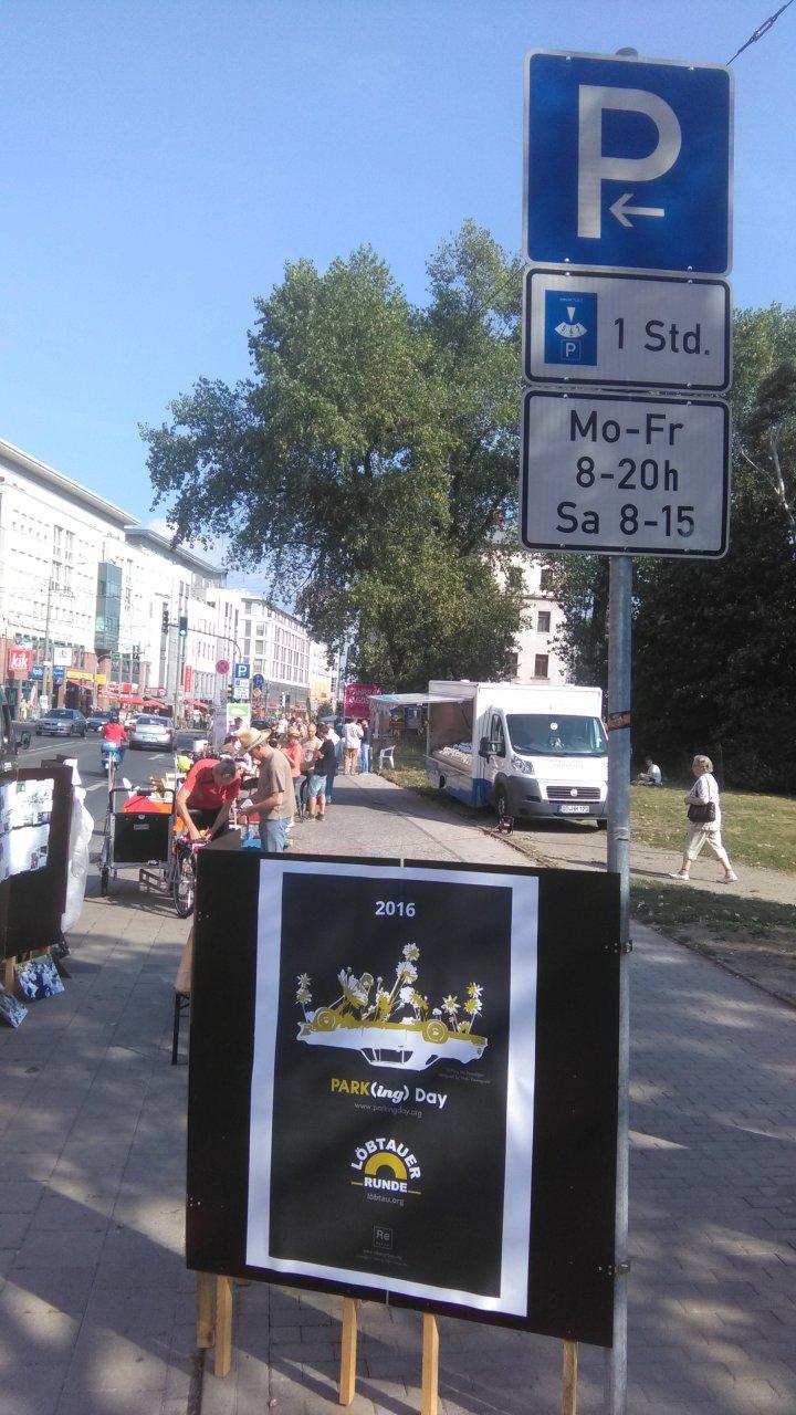 International #ParkingDay 2016 – erstmals in #Löbtau