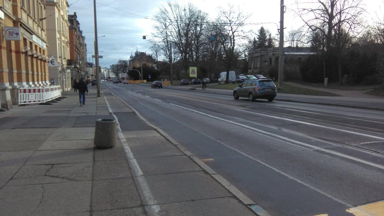 Kesselsdorfer: Mehr Boulevard – Mehr Straße. Ein Kompromiss.
