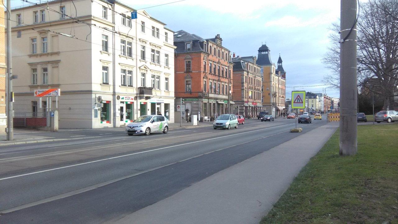 Kesselsdorfer Straße bald noch breiter?
