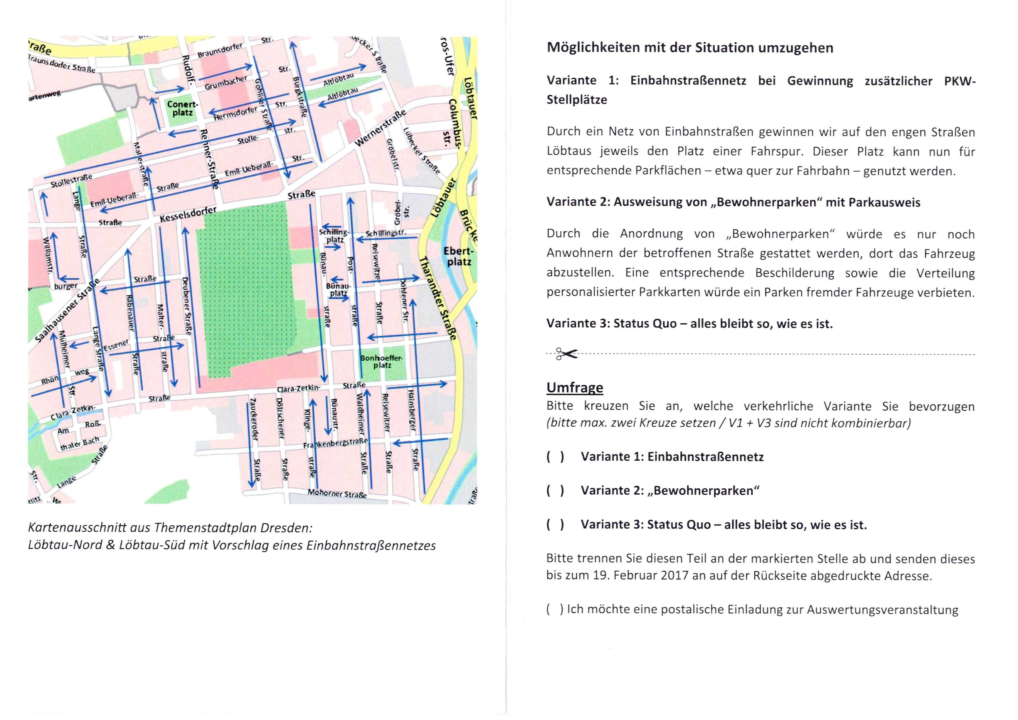 """""""Verkehrschaos"""" in Löbtau? – Berechtigte Kritik oder Aktionismus?"""