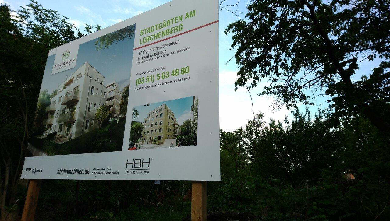 Grumbacher Straße wird verbunden – Wohnungen statt Kleingärten & Garagen