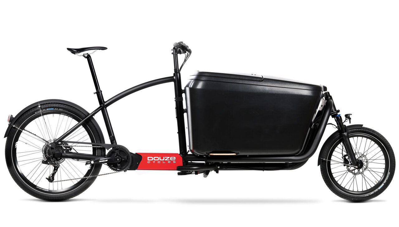 Abbildung eines Lastenrads vom Typ Douze Cycles G4e