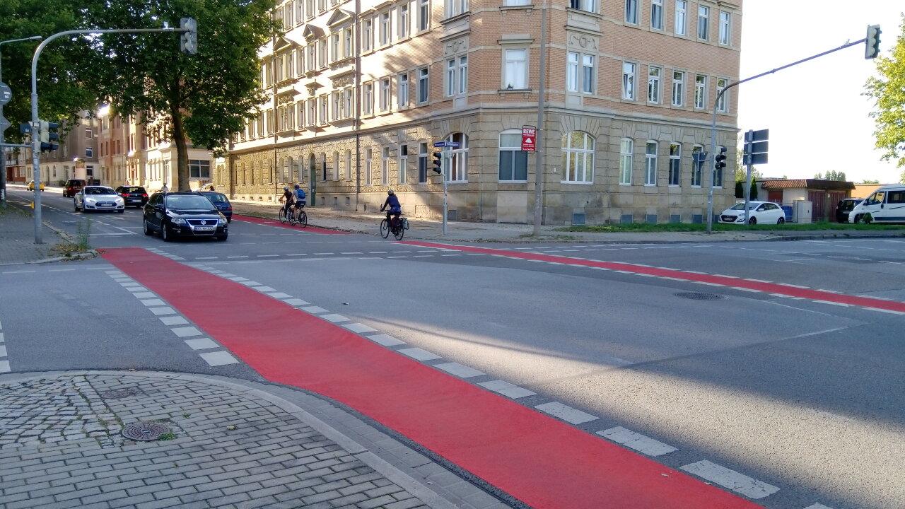 Radverkehr in Löbtau: Ein Schritt vor, einer zurück!